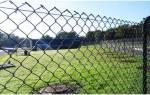 Забор из сетки рабицы своими руками как натянуть