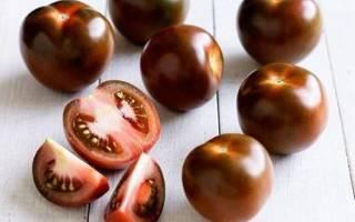 Черноплодные томаты кумато