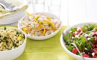 Разновидности салатов