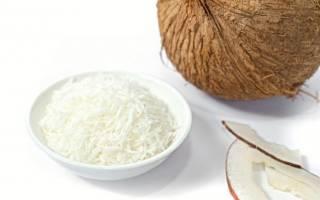 Полезна или вредна кокосовая стружка?