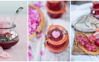 Варенье из роз три лучших рецепта