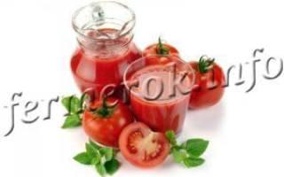 Пошаговый рецепт томатного сока на зиму с фото