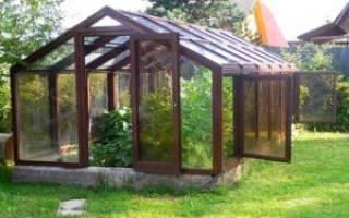 Установка деревянной теплицы на даче советы и рекомендации