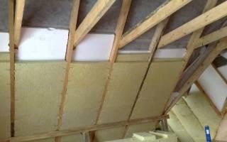 Как утеплить мансардную крышу дома
