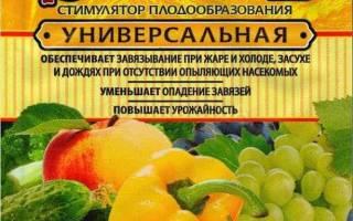 Преимущества использования стимулятора плодообразования завязь