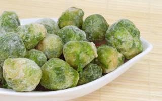 Заморозка брюссельской капусты на зиму пошаговый рецепт с фото