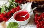 Как приготовить калину с сахаром заготовка полезной ягоды на зиму